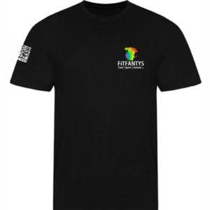 T-Shirt Herren mit QR Code
