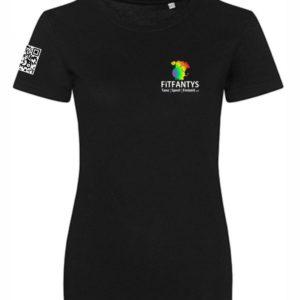 T-Shirt Damen mit QR Code